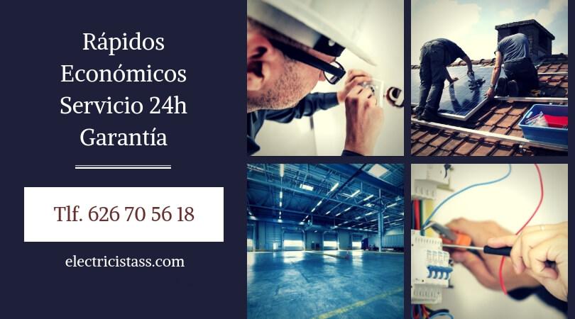 empresa de electricistas Arganzuela