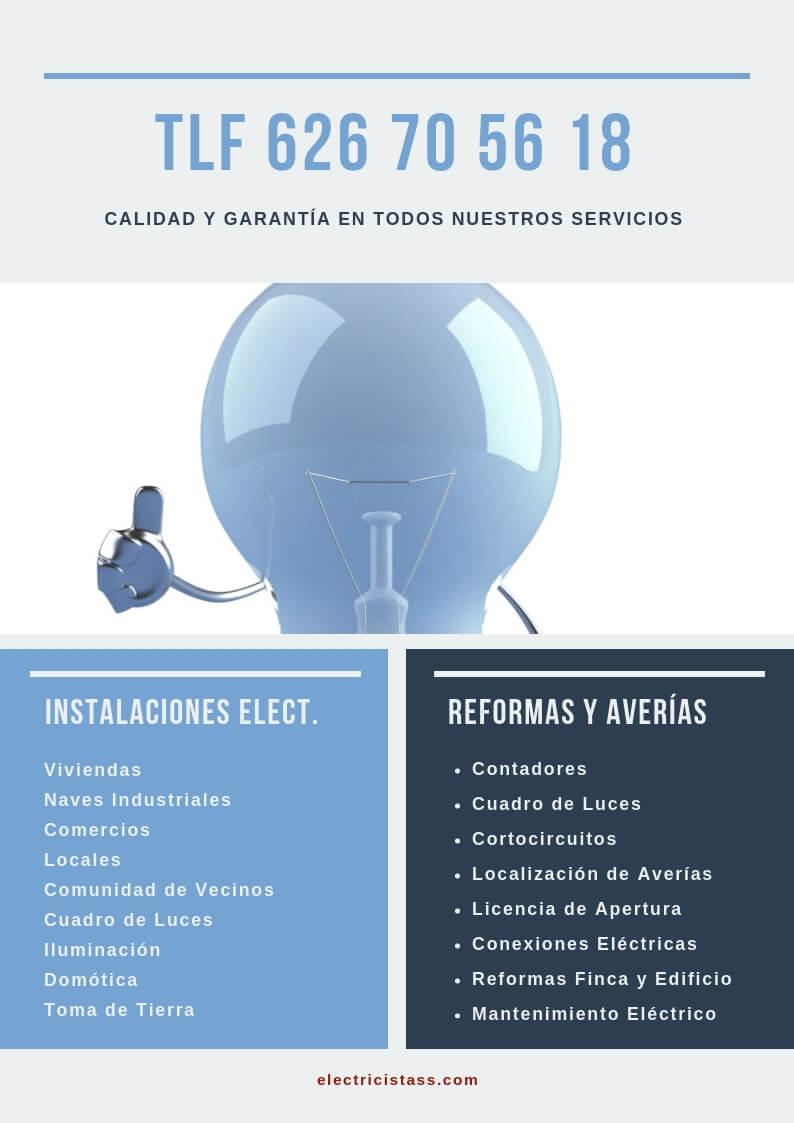 empresa instalaciones electricas industriales en madrid